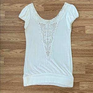 White decorative back shirt!
